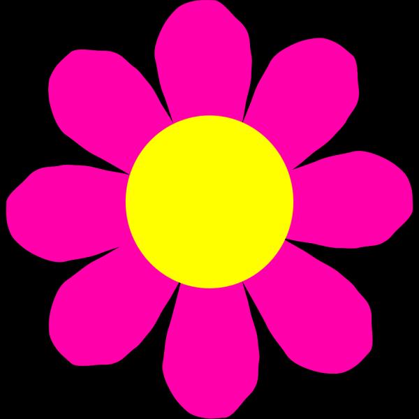 Pink Flower 12 PNG Clip art