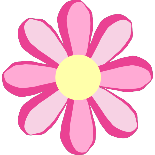 Pink Flower 2 PNG Clip art