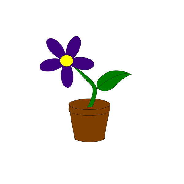 Purple Flower 9 PNG Clip art