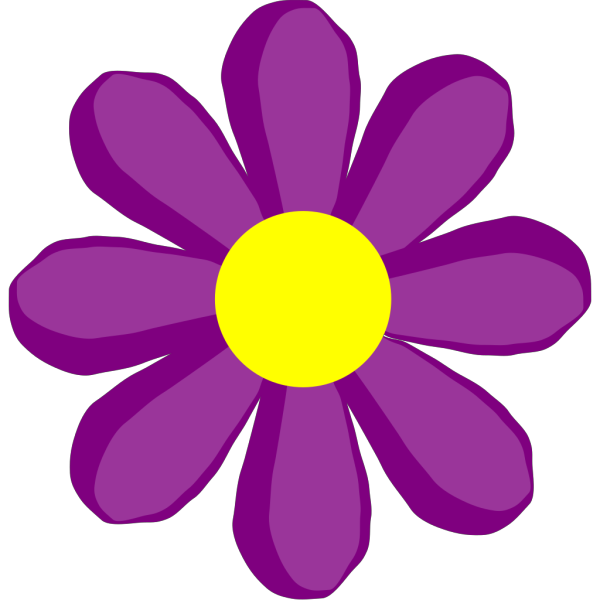 Purple Flower 10 PNG Clip art