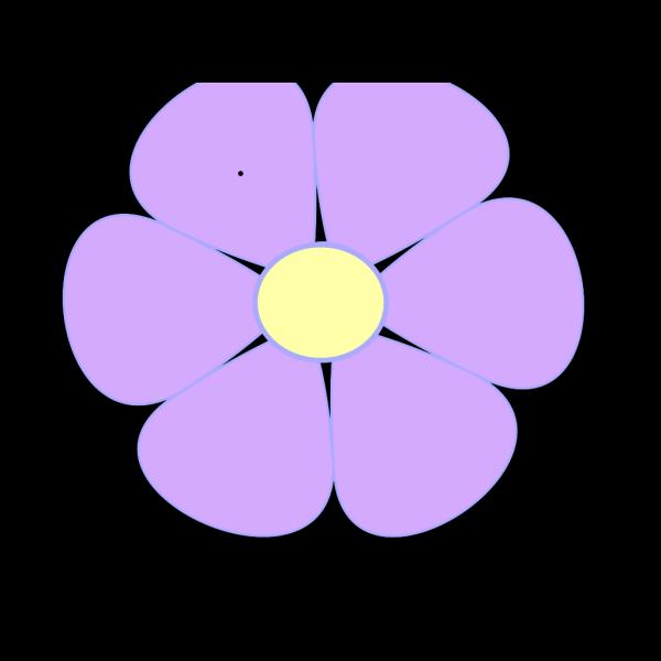 Lavender Daisy PNG Clip art