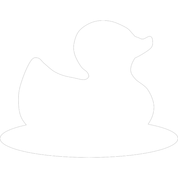 Landing White Duck PNG images