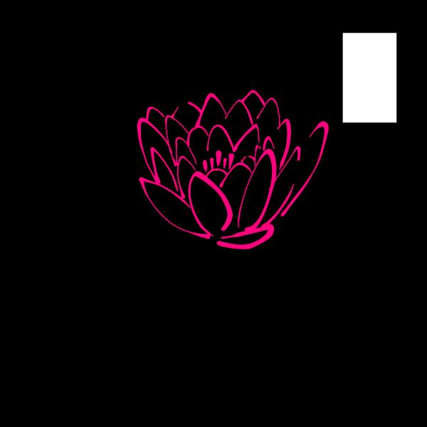 Pink Lotus Bud PNG Clip art