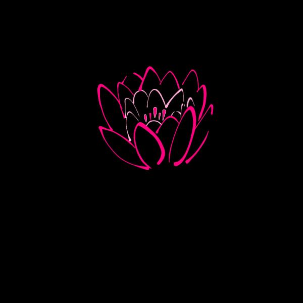 12 Petal Pink Lotus PNG Clip art