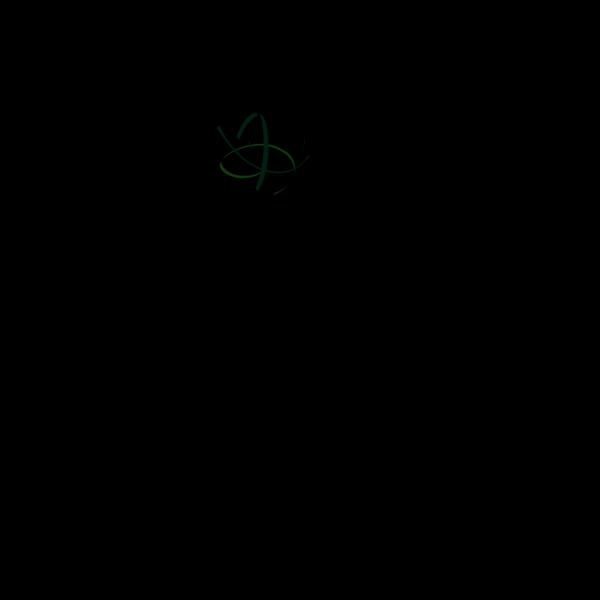 Green Swirl Again PNG Clip art