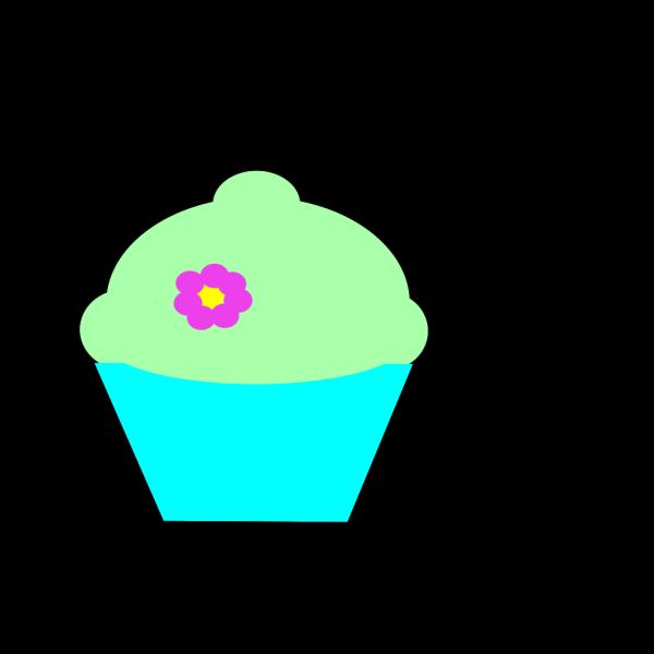 Cupcake Flower PNG Clip art