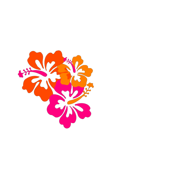 Lime Hibiscus PNG Clip art