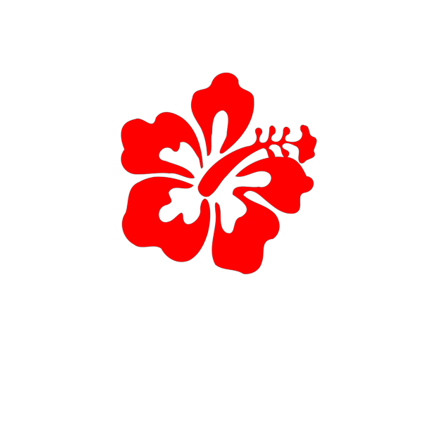Red Hibiscus PNG Clip art