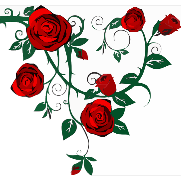 Rose Border PNG Clip art
