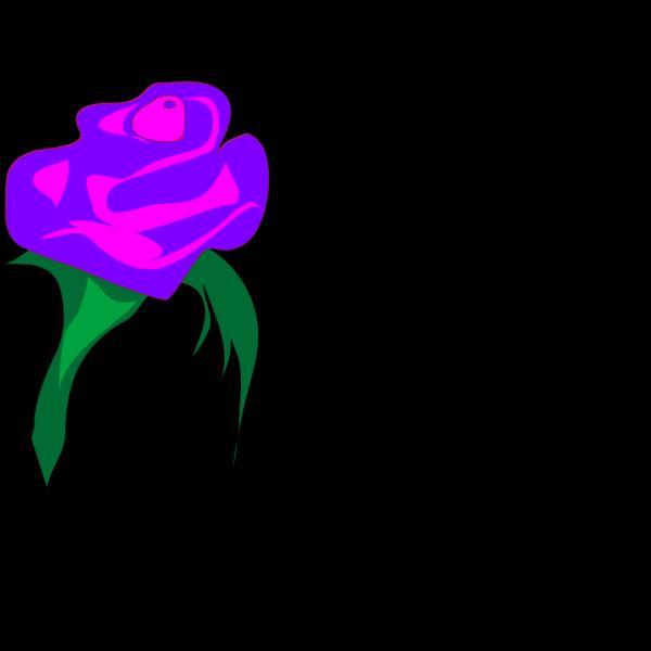Purple Rose PNG Clip art