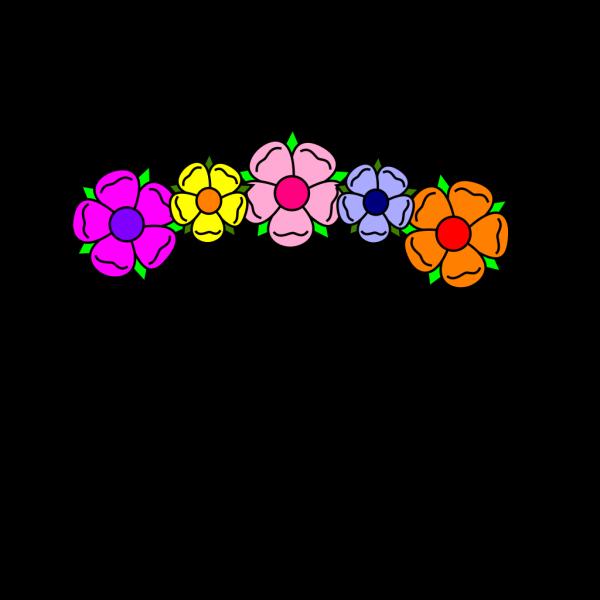 Flower Banner PNG Clip art