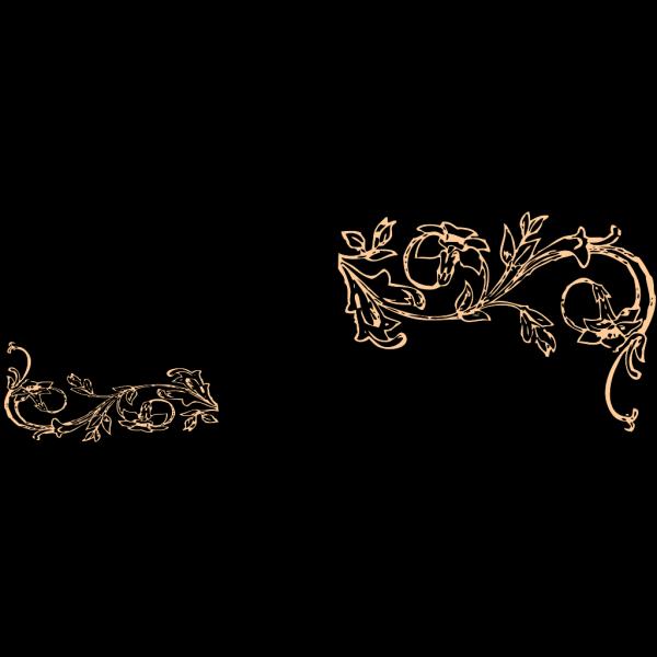 Flower Frame A PNG Clip art