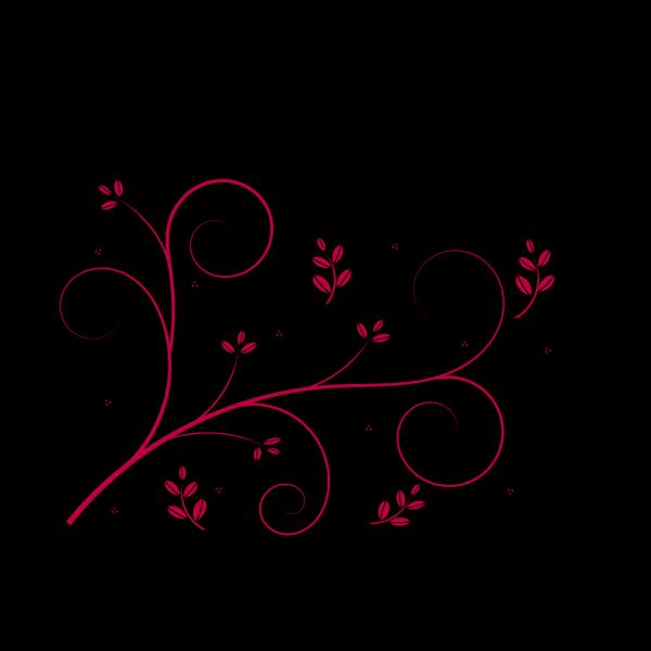 Flower Swirl PNG Clip art
