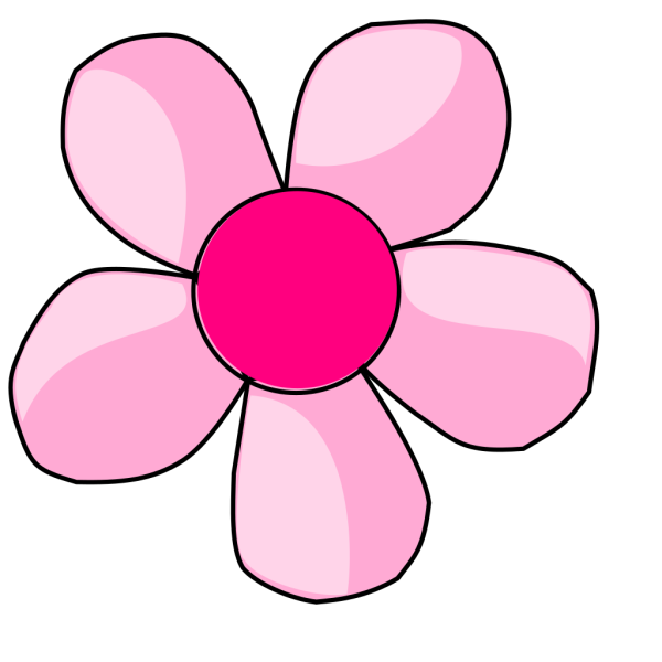 Pink Daisy PNG Clip art