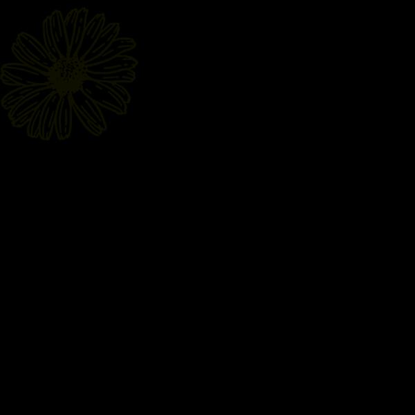 Transparent Yellow Flower PNG Clip art