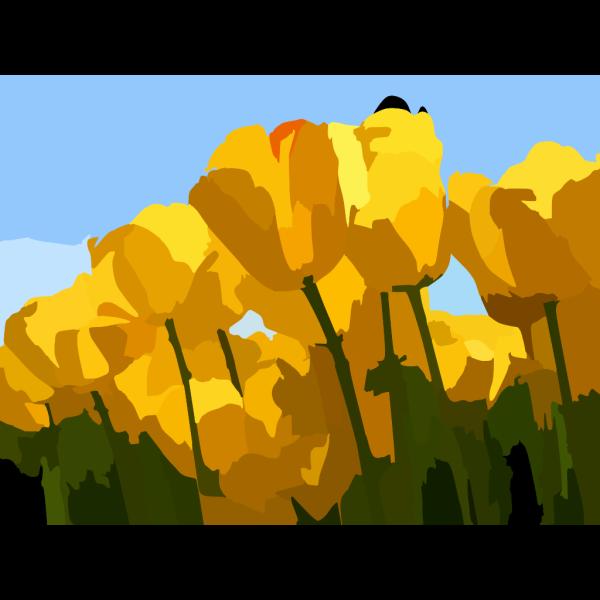 Big Flowers PNG Clip art