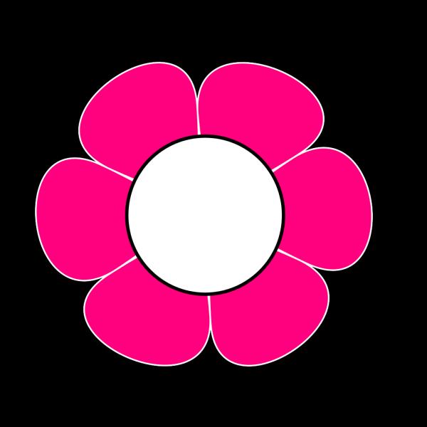 1 Pink  Flower PNG Clip art