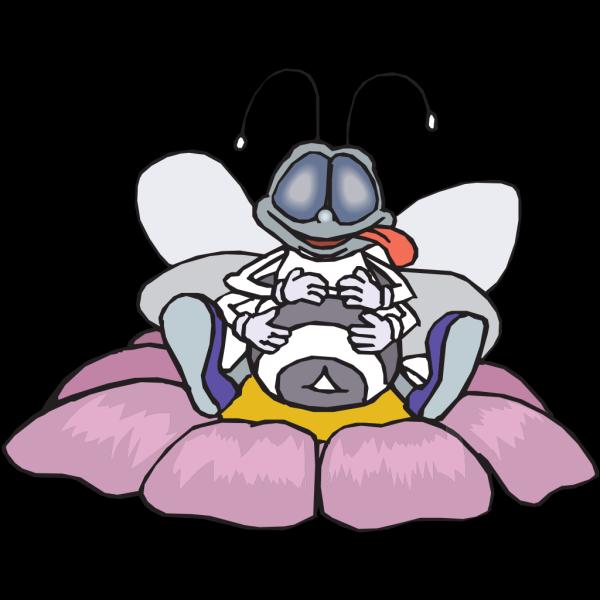 Stuffed Bee PNG Clip art