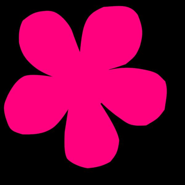 Pink Flower Blob PNG Clip art