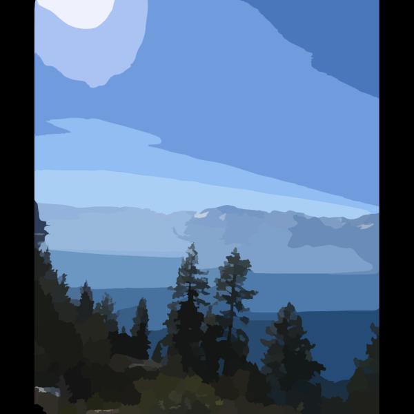 Lake Tahoe Sky Blue PNG images