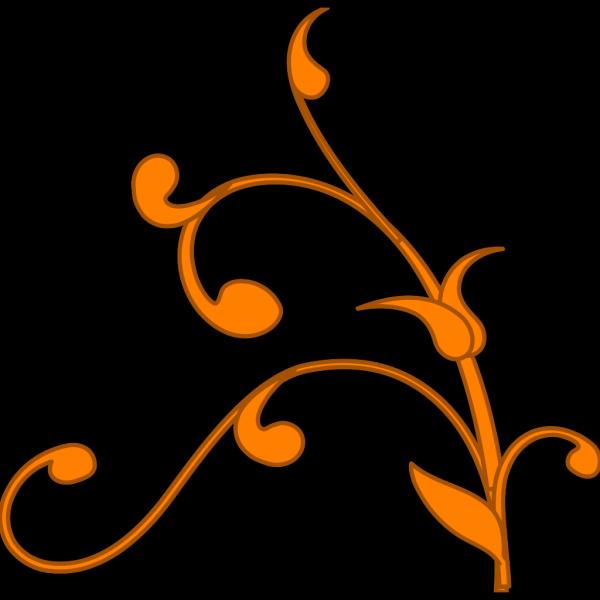 Gold Vine PNG Clip art