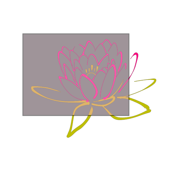Pink Lotus On Pink PNG Clip art
