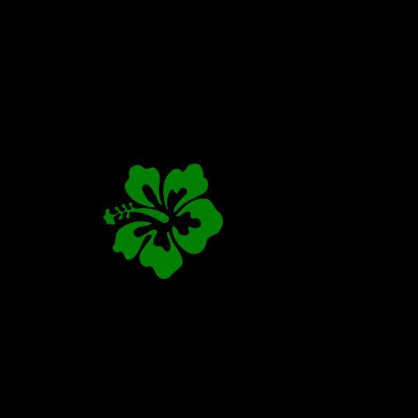 Hibiscus Green PNG Clip art