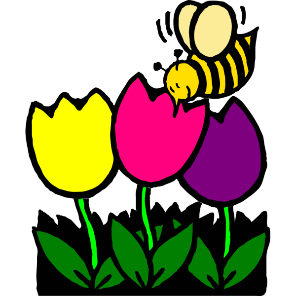 Busy Bee PNG Clip art