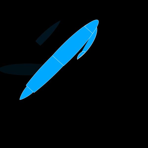 Blue Pen PNG images