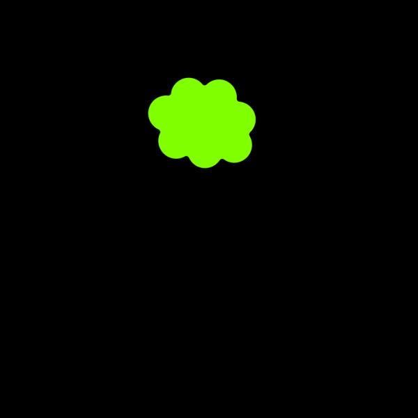 Greencloud PNG Clip art