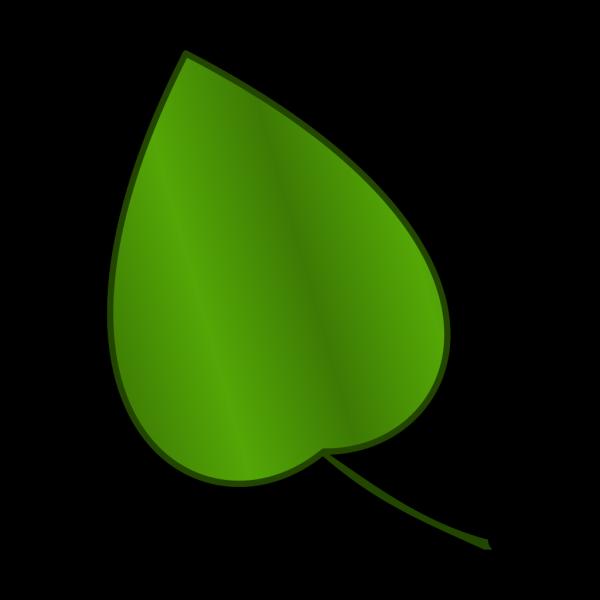 Blue Leaf PNG Clip art