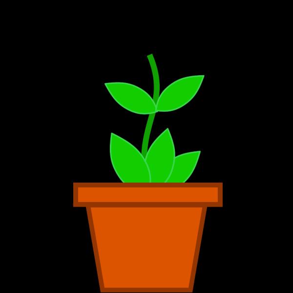Pot Flower PNG Clip art