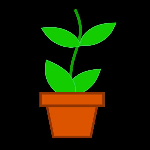 Pot Flower Md PNG Clip art