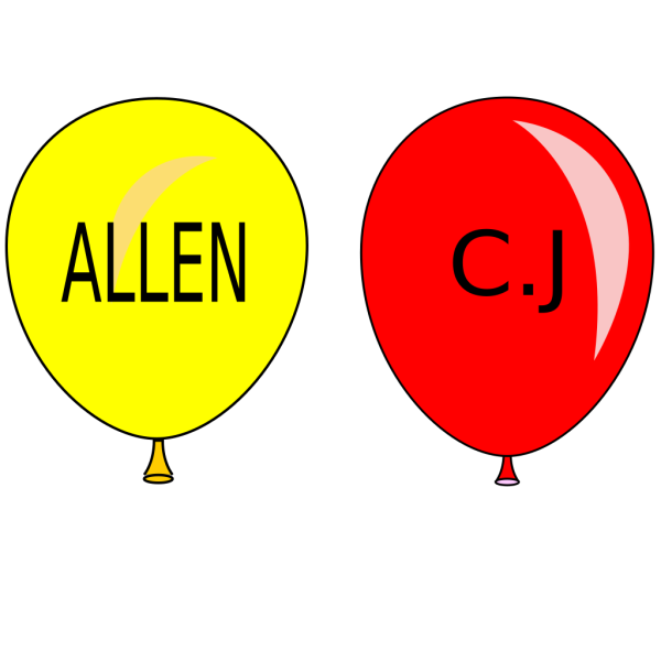 Balloons PNG images