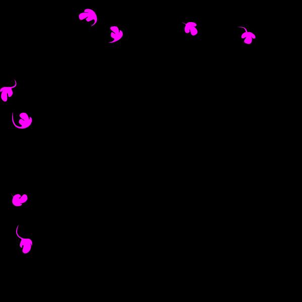 Black Pink Border PNG Clip art