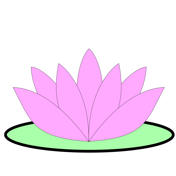 Pink Lotus Flower PNG icons