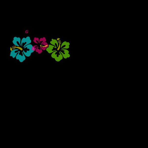 Going Coastal Flowers PNG Clip art