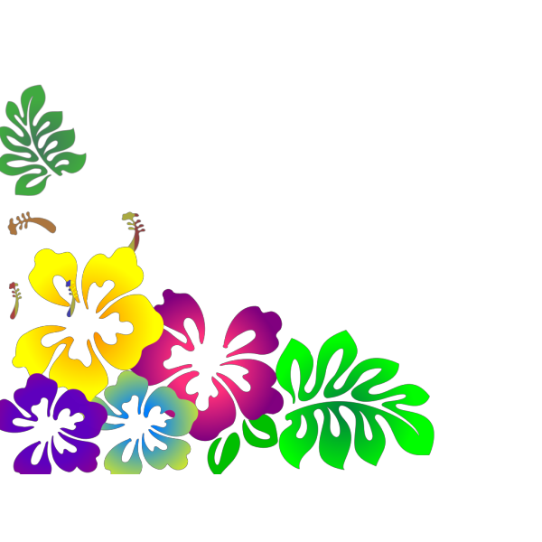 Hibiscus2 PNG images