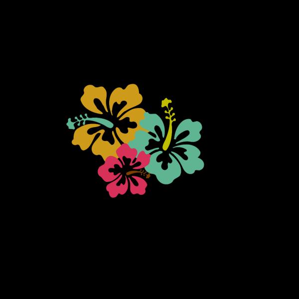 Hibiscus Mute Tones PNG Clip art