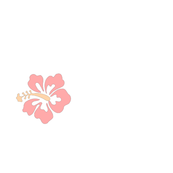 Pink Hibiscus PNG icons