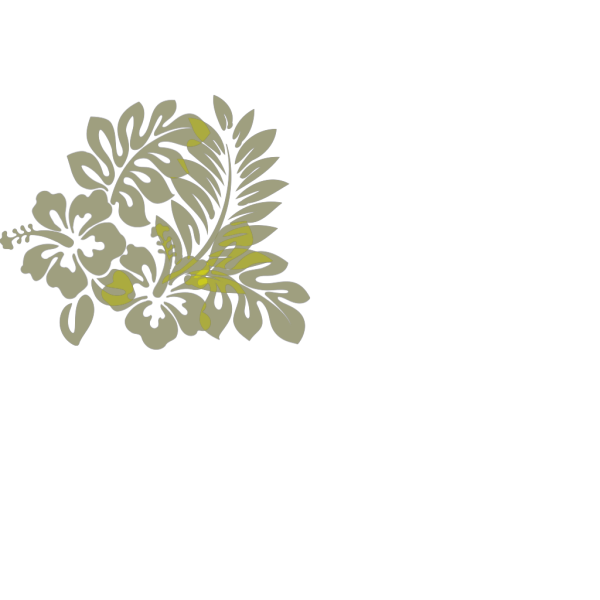 Hibiscus Light Yellow PNG Clip art