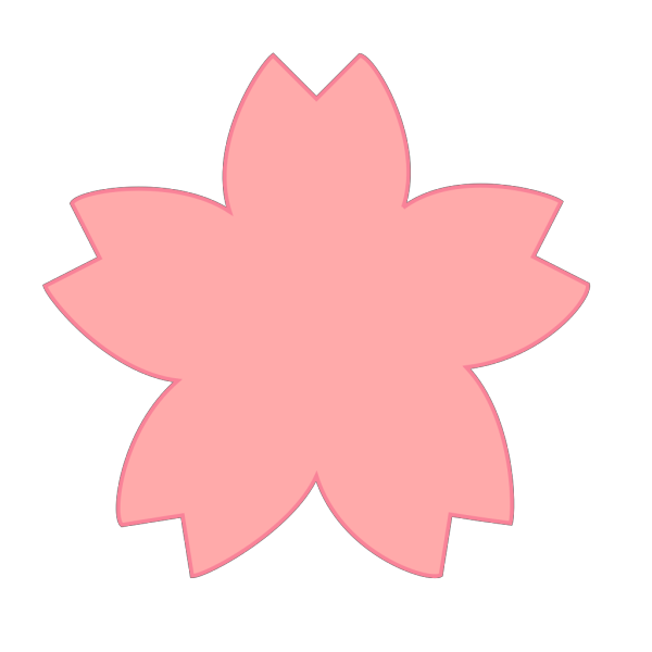 Pink Sakura 01 PNG Clip art