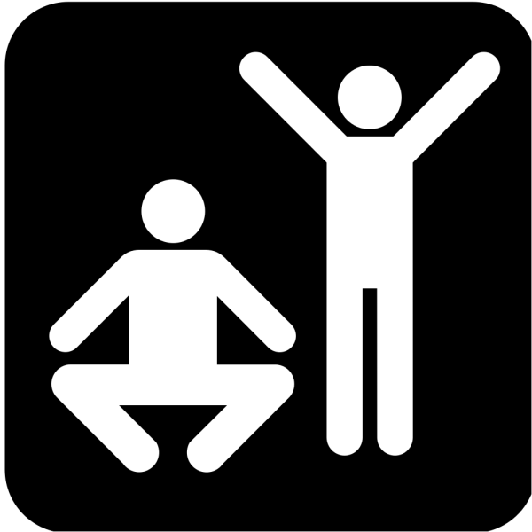 Exercise  Or Gym Area 2 PNG Clip art