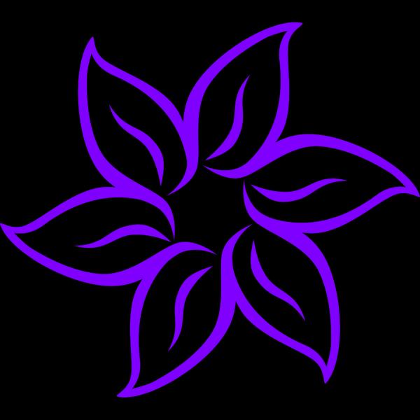 Purple Lily PNG Clip art