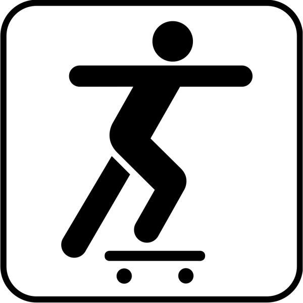 A Person Sliding On A Skate Board PNG images