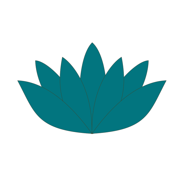 Lotus In Peacock PNG Clip art