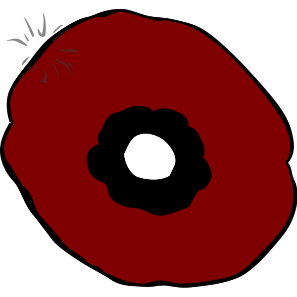 Plain Poppy PNG Clip art