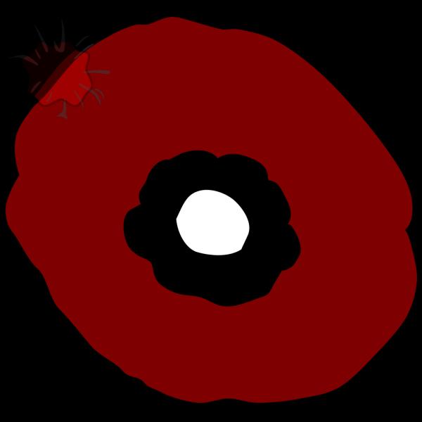 Plain Layered Poppy PNG Clip art