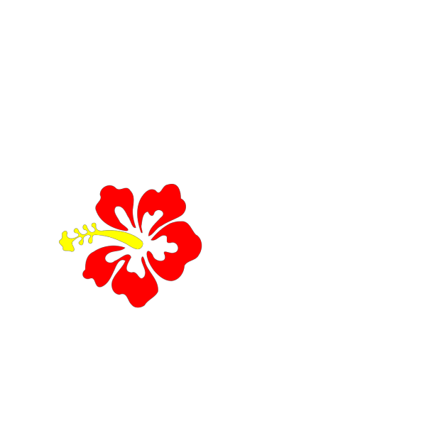 Hibiscus Flower PNG Clip art