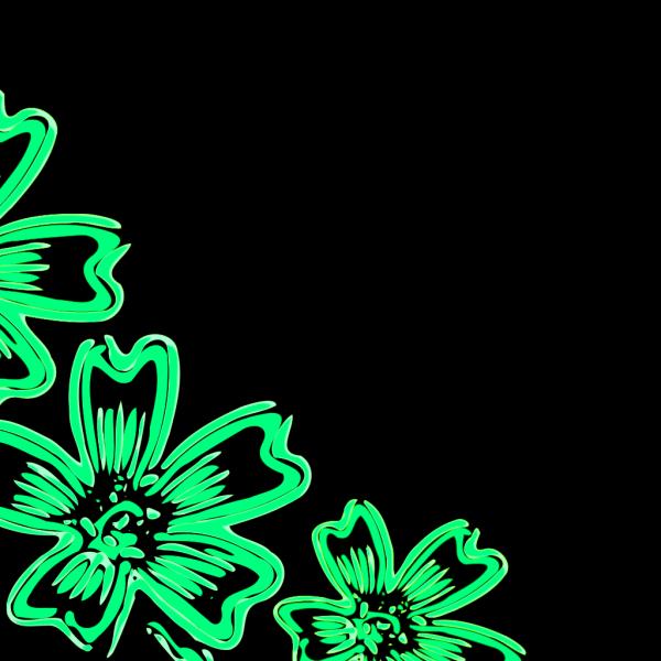 Ligth Green Flower PNG Clip art